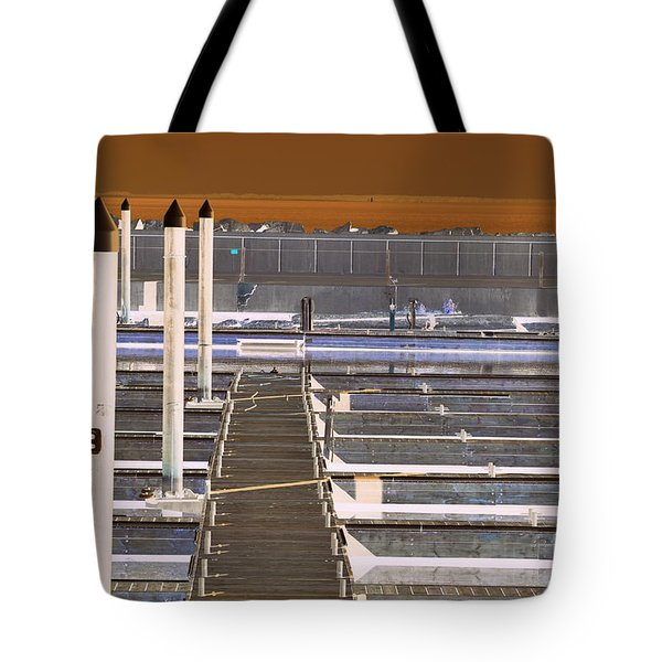 Mocha Dock 2 Tote Bag