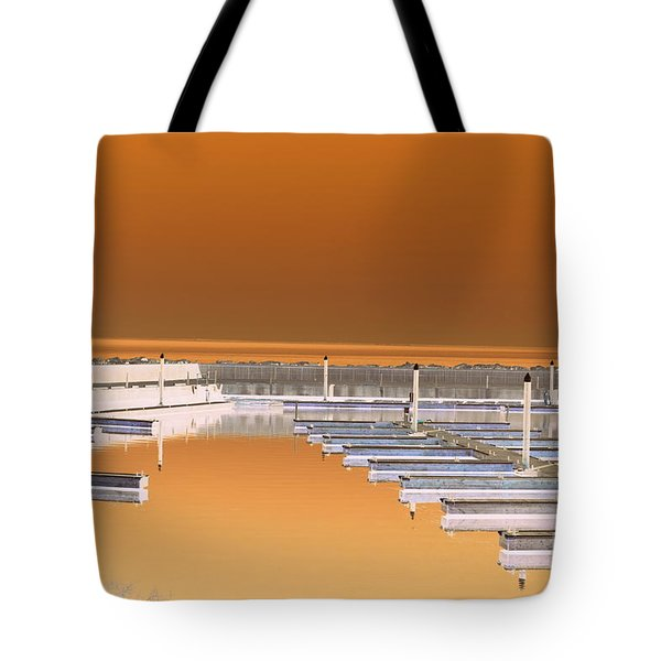 Mocha Dock Tote Bag