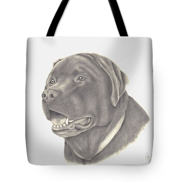 Tote Bag featuring the drawing Mocha by Patricia Hiltz