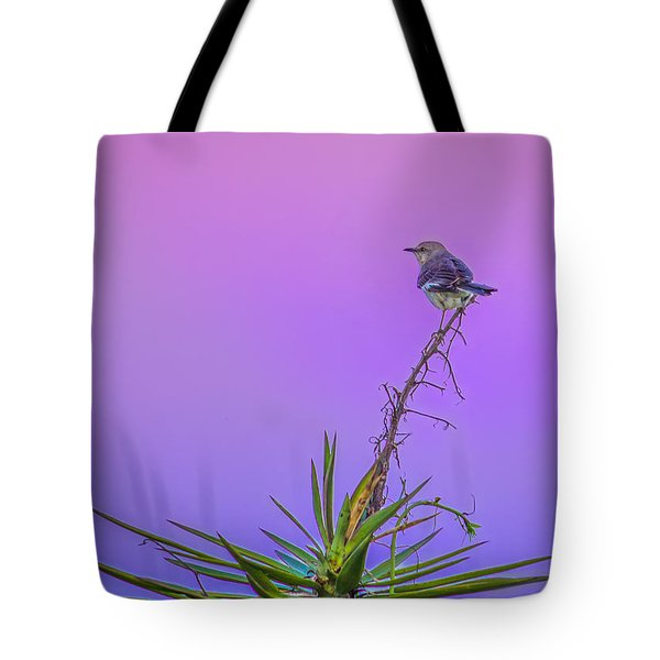Tote Bag featuring the photograph Mocking The Yucca by Rob Sellers