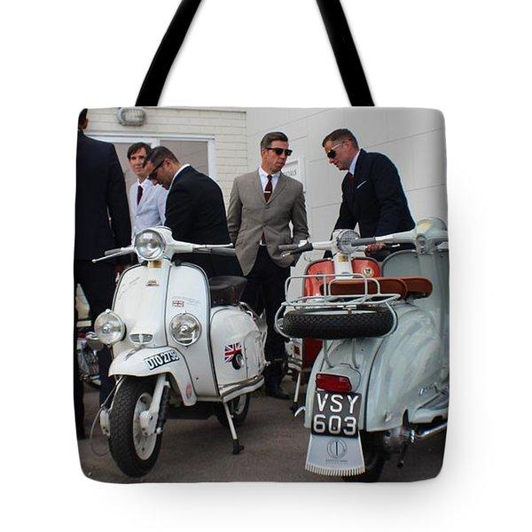 Mod Meeting Tote Bag