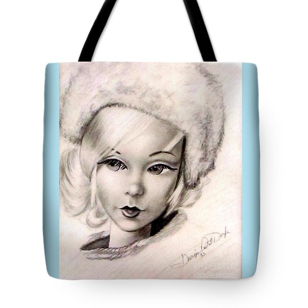 Mod Talker Barbie Tote Bag