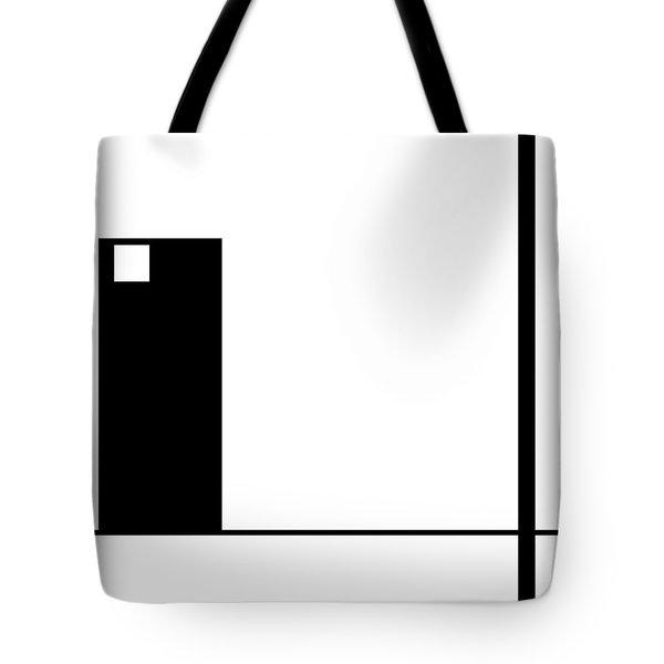 Moda 1 Inverse - Modern Art By Sharon Cummings Tote Bag