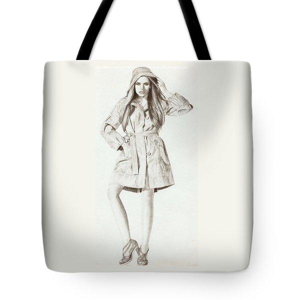 Model 2 Tote Bag by Nur Adlina