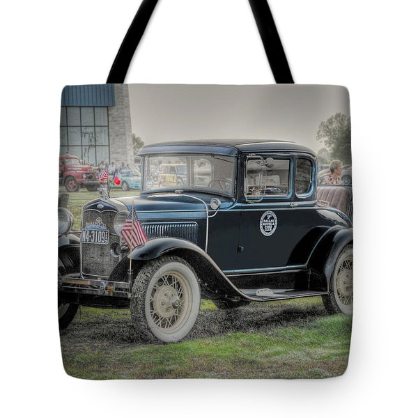 Tote Bag featuring the photograph Model A Ford  by Dyle   Warren