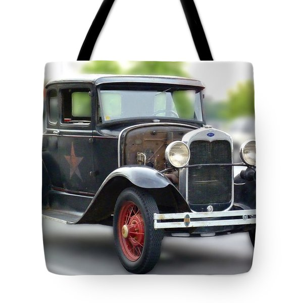 Model A Sheriff's Car Tote Bag