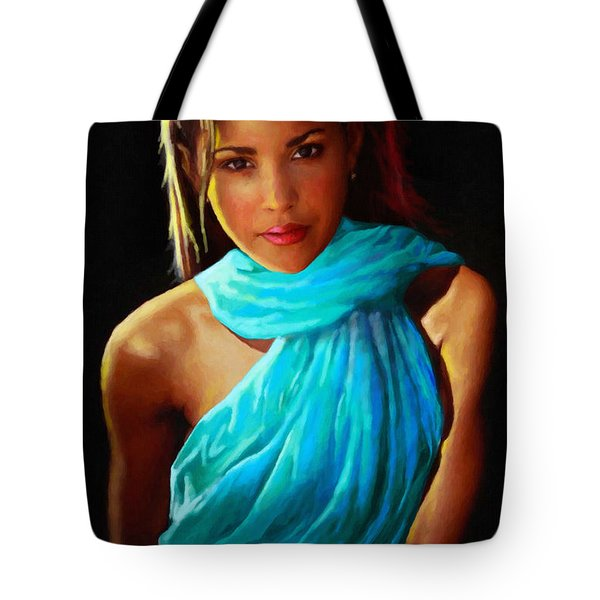 Well Fed Model Tote Bag