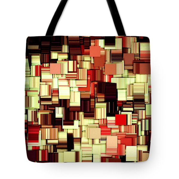 Modern Abstract Art Xvii Tote Bag