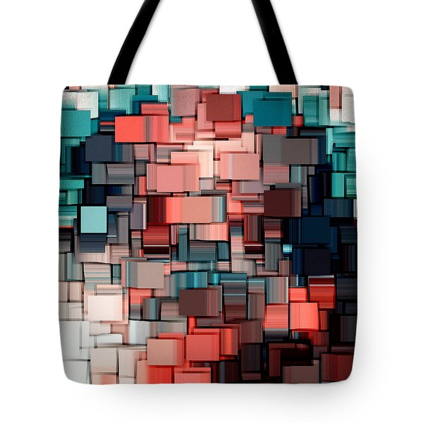 Modern Abstract Ix Tote Bag by Lourry Legarde