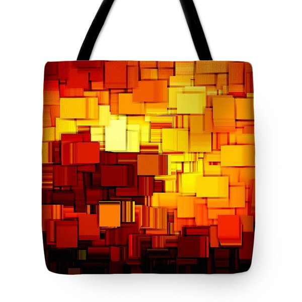Modern Abstract Xi Tote Bag by Lourry Legarde