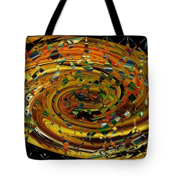 Tote Bag featuring the digital art Modern Art II by rd Erickson