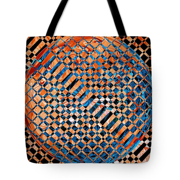 Tote Bag featuring the digital art Modern Art Iv by Roy Erickson