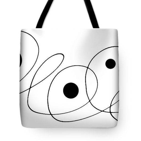 Modern Art - To The Point - By Sharon Cummings Tote Bag