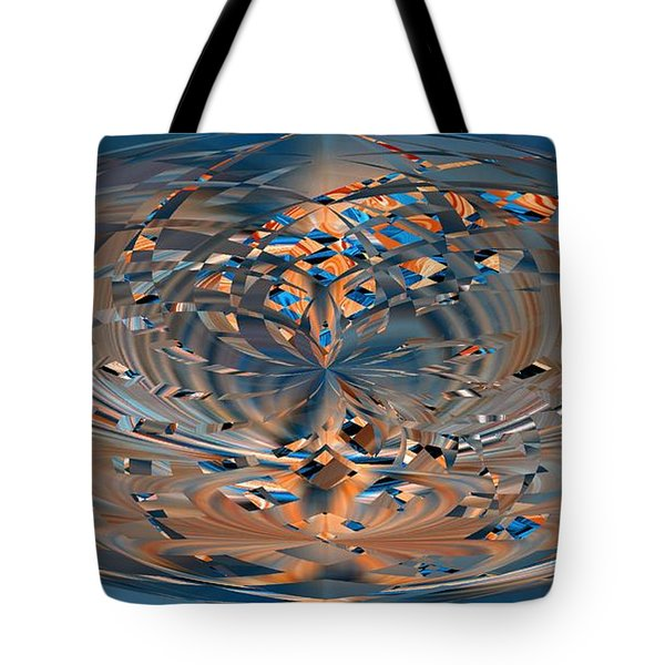Tote Bag featuring the digital art Modern Art Vi by Roy Erickson