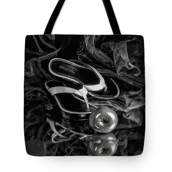 Tote Bag featuring the photograph Modern Cinderella by Karo Evans