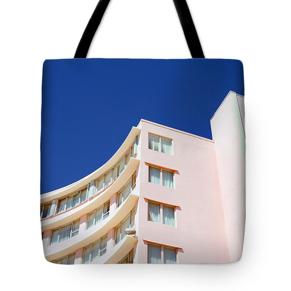 Modern Curves Tote Bag by Keith Armstrong