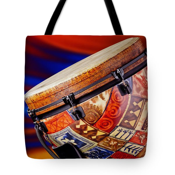 Modern Djembe African Drum Photograph In Color 3336.02 Tote Bag
