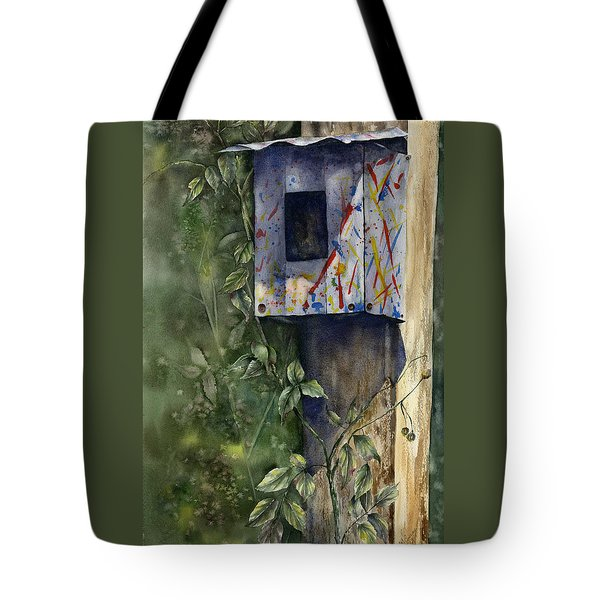 Modern Feathered Friends Tote Bag