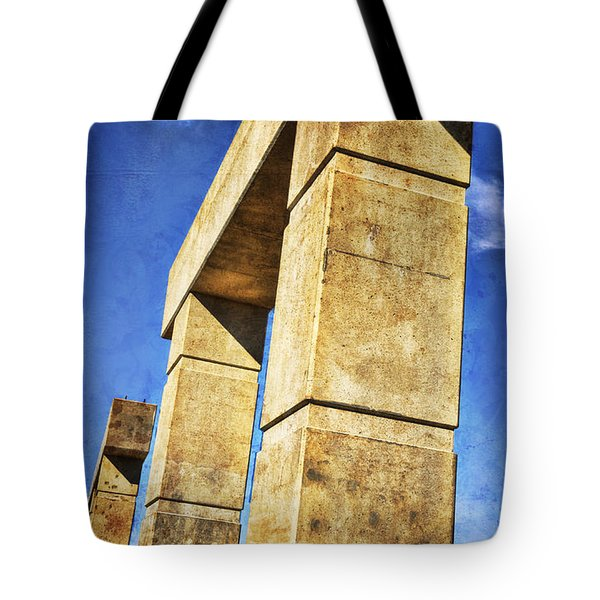 Modern Forum Tote Bag by Joan Carroll