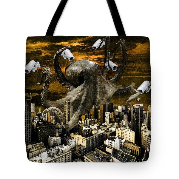 Modern Freedom Tote Bag