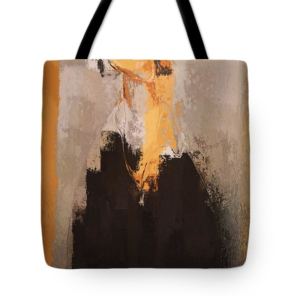 Modern From Classic Art Portrait - 088a Tote Bag by Variance Collections
