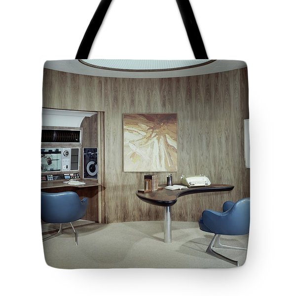 Modern Home Office Tote Bag