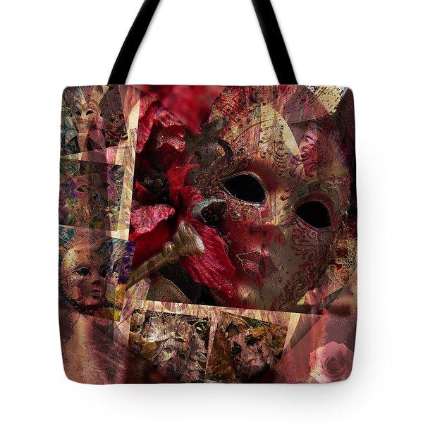 Modern Masks Tote Bag