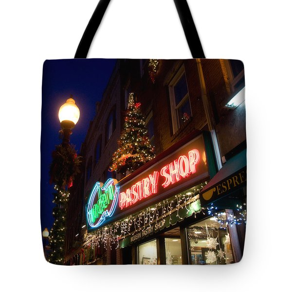 Modern Pastry Shop Tote Bag by Joann Vitali