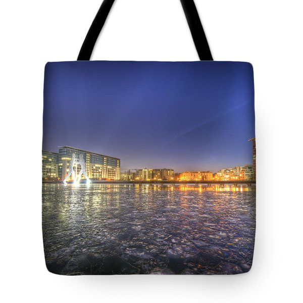 Modern Skyline  Tote Bag by Nathan Wright