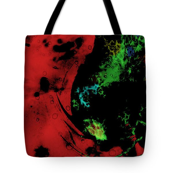 Tote Bag featuring the mixed media Modern Squid by Ally  White