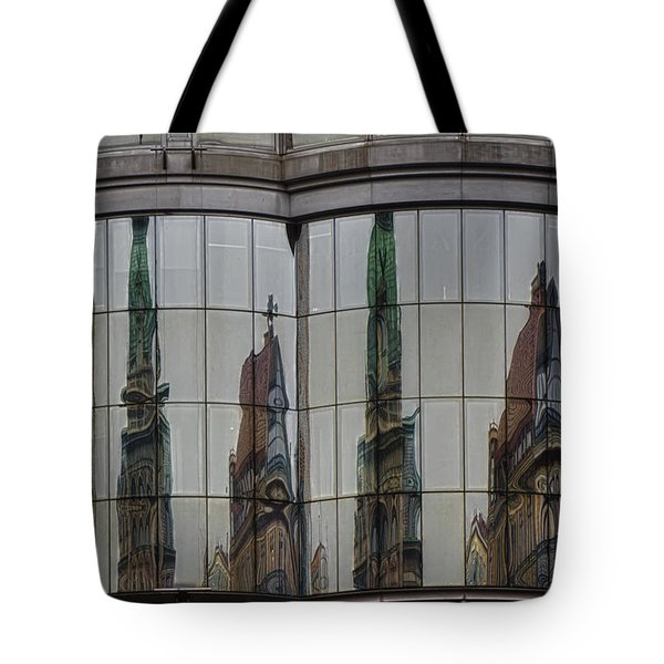 Modern Totems Tote Bag by Joan Carroll