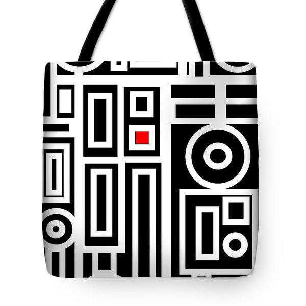 Modern Vibe 7 Tote Bag by Roz Abellera Art