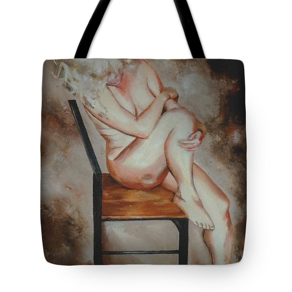 Modesty  Tote Bag by Cherise Foster