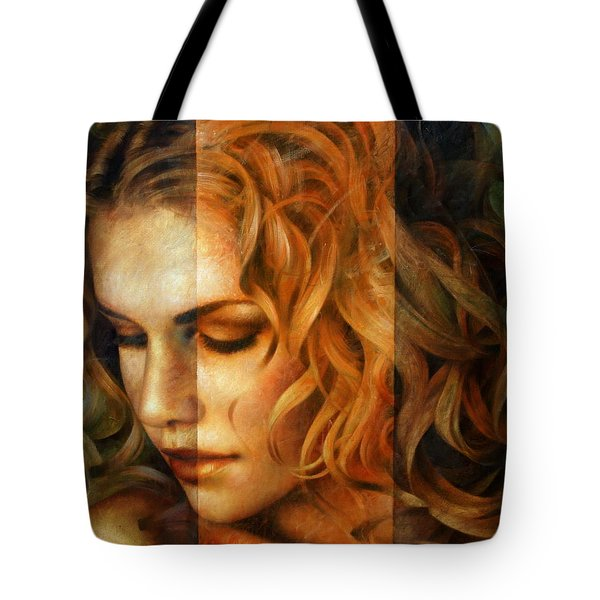 modified version of Portrait Tote Bag by Arthur Braginsky