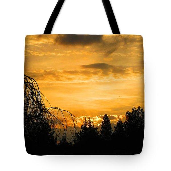 Modoc Sunrise Tote Bag