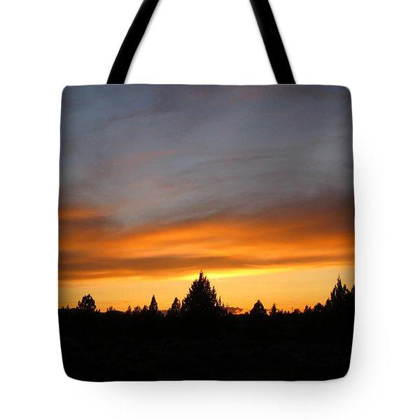 Modoc Sunset Tote Bag