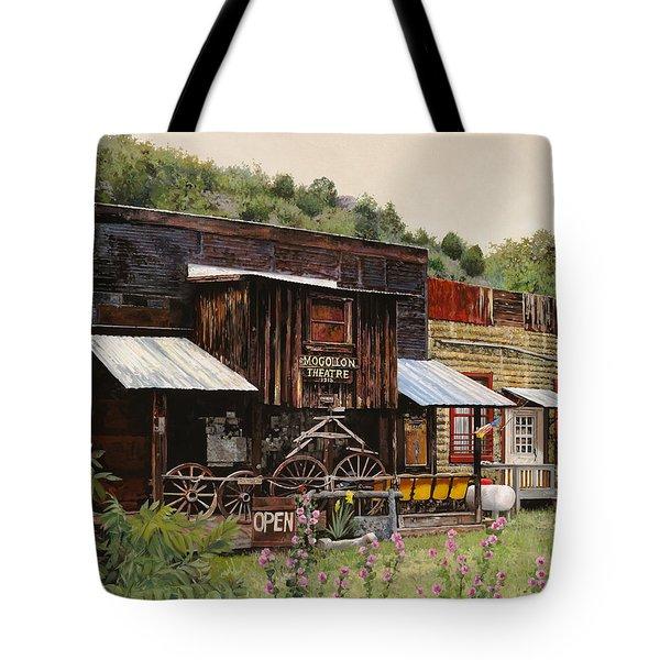Mogollon-theatre-new Mexico  Tote Bag