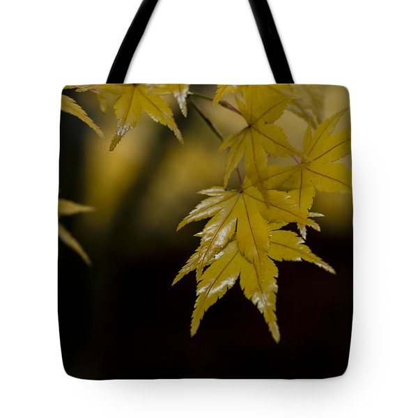 Moist Yellow Tote Bag