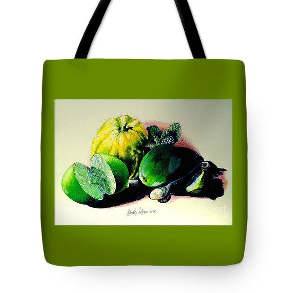 Mojito N.2 Tote Bag by Alessandra Andrisani