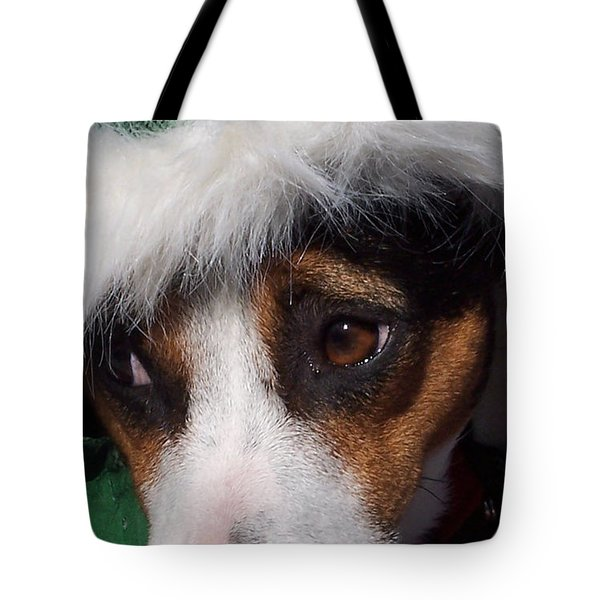 Mojo's New Holiday Coat Tote Bag