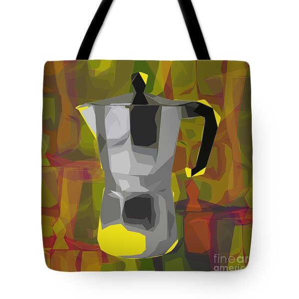 Moka Pot Tote Bag by Jean luc Comperat
