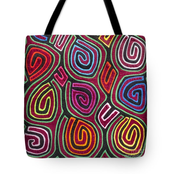 Mola Art Tote Bag by Heiko Koehrer-Wagner