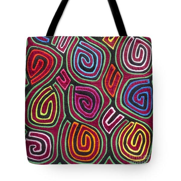 Mola Art Tote Bag