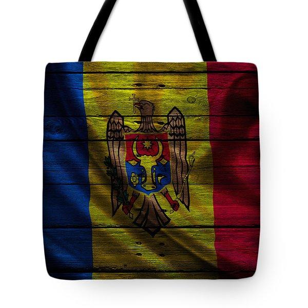 Moldova Tote Bag