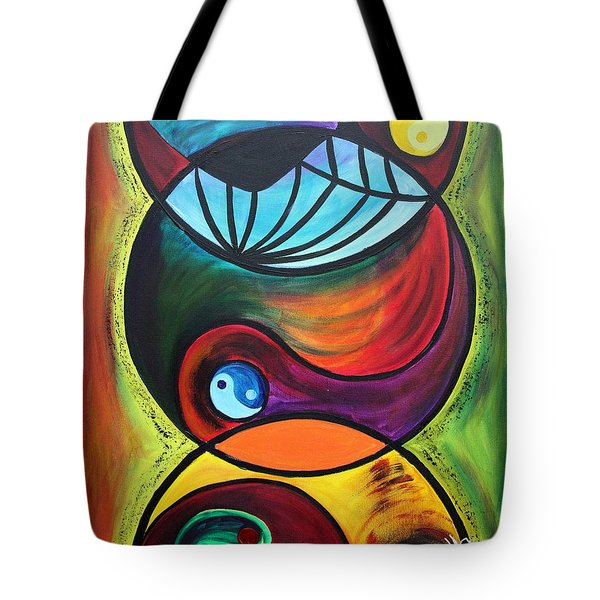 Molecules Of Emotion Tote Bag
