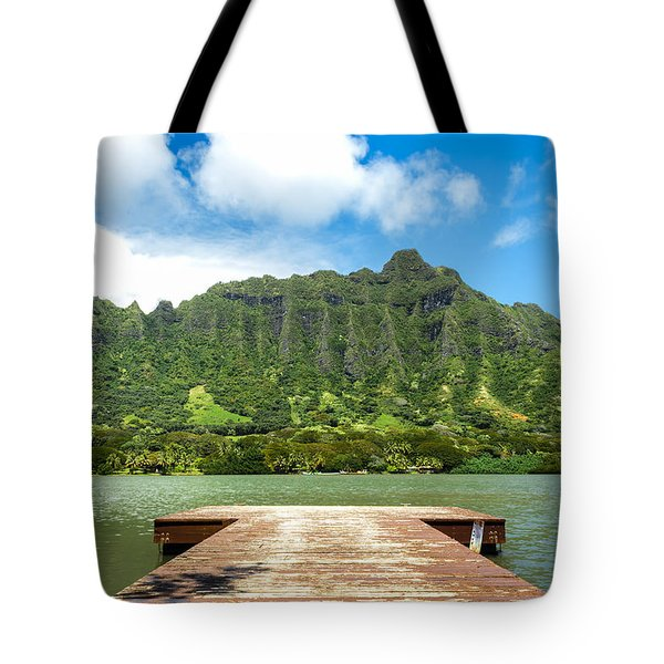 Molii Fishpond 1 Tote Bag