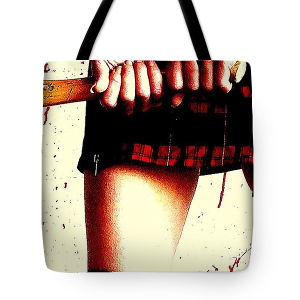 Molly's Hatchet Tote Bag