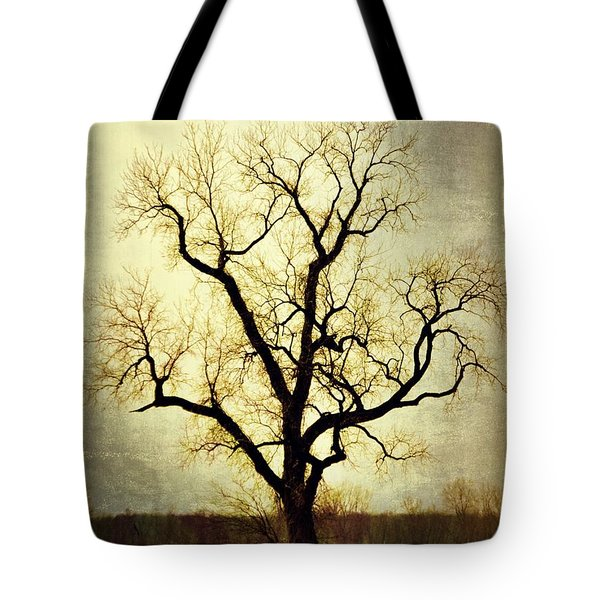 Molted Tree Tote Bag by Marty Koch