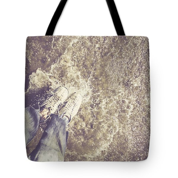 Moment Of Impact Tote Bag