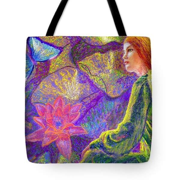Meditation, Moment Of Oneness Tote Bag